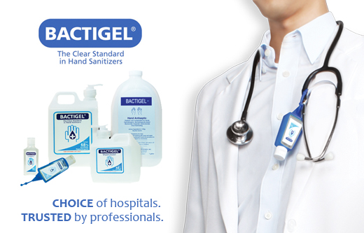 Bactigel Hand Sanitizers