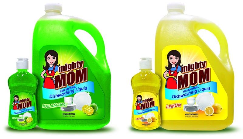 mighty mom dishwashing liquid